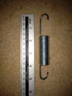 R12 5 inch tension springs (sold as a pair)